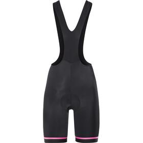Etxeondo Koma 2 Bib-pyöräilyshortsit Naiset, black/pink